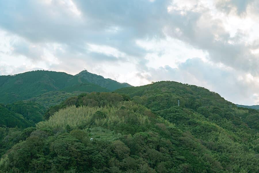 三輪 湯河原 山水のツイン 景色