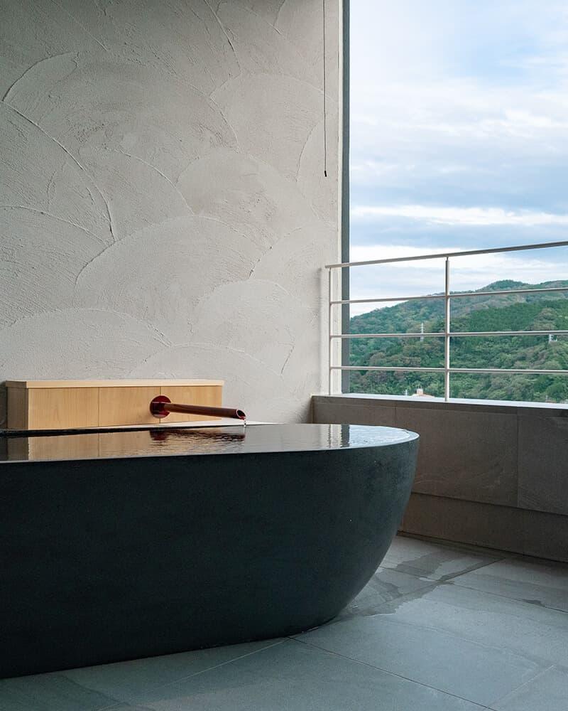 山水のツイン(露天風呂付き客室)