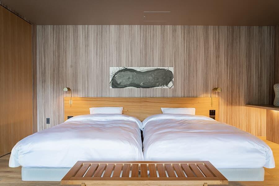 三輪 湯河原|三輪のスイート|ベッドルーム