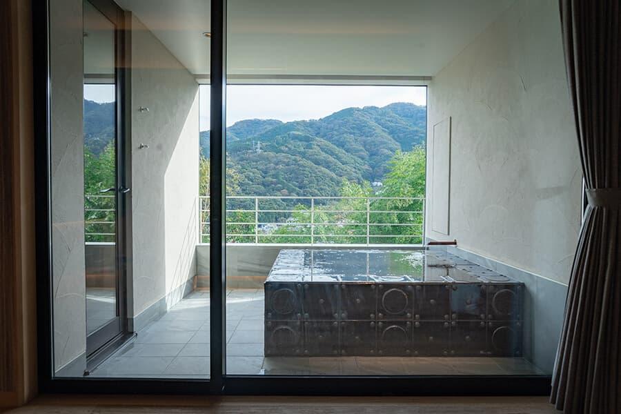 http://三輪%20湯河原|三輪のスイート|露天風呂